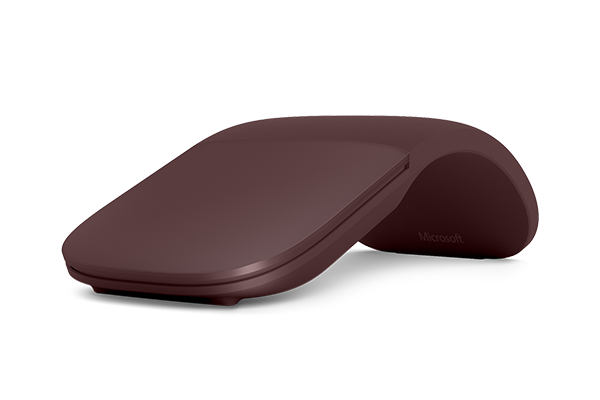 Surface Arc Mouse - Burgundy