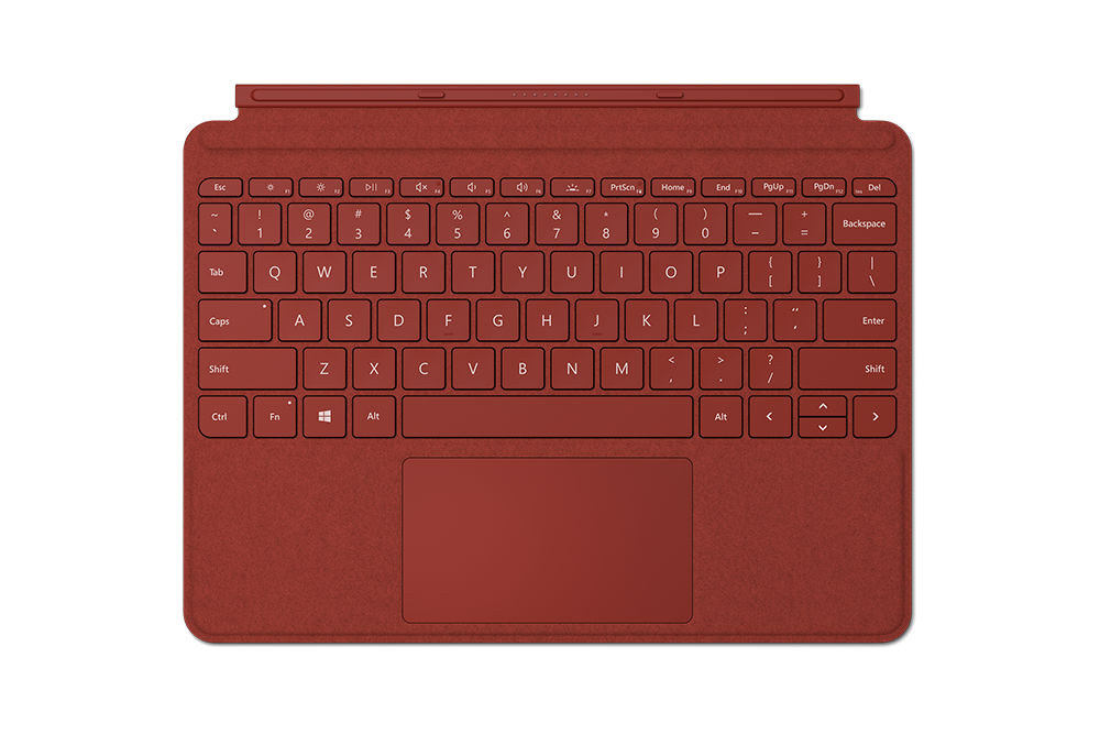 Surface Go Signature Type Poppy Red NEW!